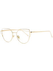 Golden Frame Metal Bar Pilot Sunglasses