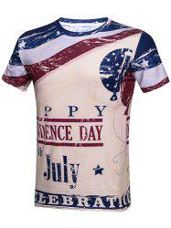 American Independence Day Graphic T-Shirt