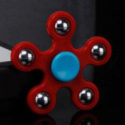 Focus Toy Ball Bearing Fidget Spinner - RED