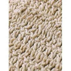 Halter Strappy Handwork Crochet Bathing Suit - KHAKI ONE SIZE(FIT SIZE XS TO M)