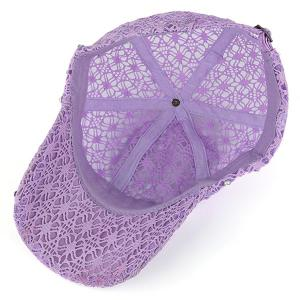 Lace Hollow Out Mesh Hot Drilling Hat -