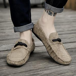 Stitching Crack Pattern Casual Shoes -