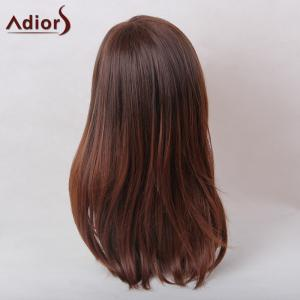 Adiors Straight Long Natural Side Part Synthetic Hair -