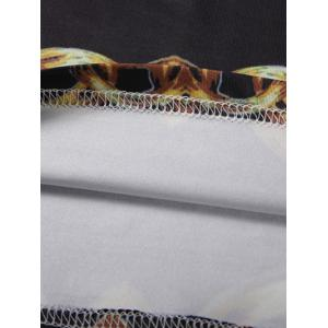 Chains Printed Crew Neck T-Shirt -