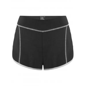 Mini Color Block Running Shorts
