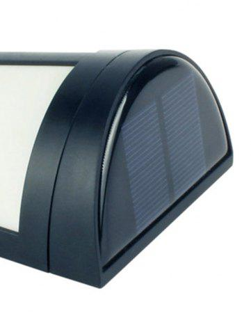 Store Outdoor Solar Powered LED Wall Lamp - BLACK  Mobile