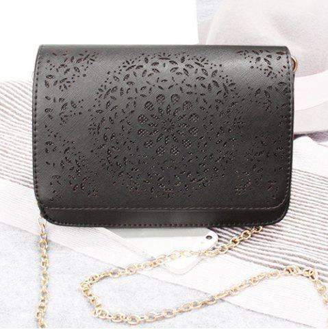 Fancy Chain Hollow Out Crossbody Bag
