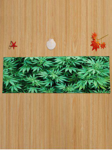 Latest Greenery Indoor Coral Velvet Large Area Rug - W16 INCH * L47 INCH GREEN Mobile