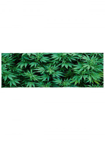 Affordable Greenery Indoor Coral Velvet Large Area Rug - W16 INCH * L47 INCH GREEN Mobile