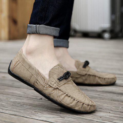 Store Stitching Crack Pattern Casual Shoes
