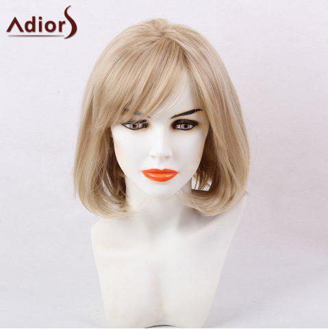 Outfit Adiors Short Straight Bob Oblique Bang Synthetic Hair - COLORMIX  Mobile