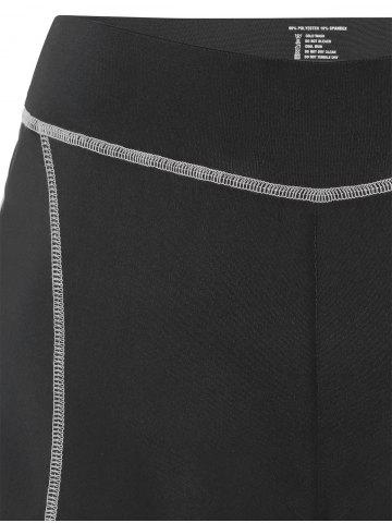 Fancy Mini Color Block Running Shorts - GRAY M Mobile