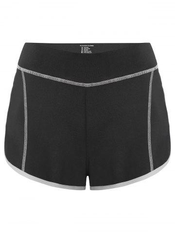 Latest Mini Color Block Running Shorts