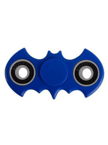 Shop Anti Stress Toy Bat Shaped Rotating Finger Gyro BLUE
