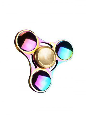 Chic Anti Stress Toy Rainbow Gyro Triangle Fidget Finger Spinner - MULTI COLOR  Mobile