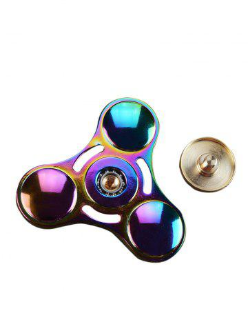 Trendy Anti Stress Toy Rainbow Gyro Triangle Fidget Finger Spinner - MULTI COLOR  Mobile