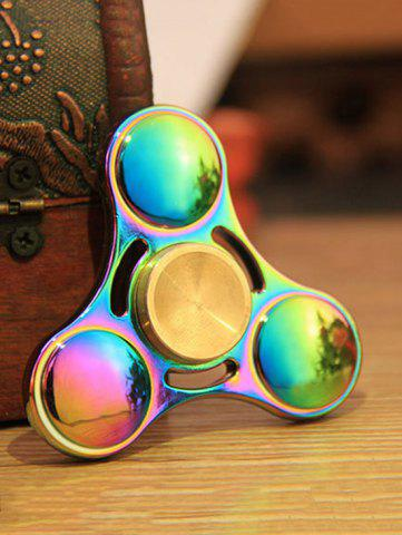 Fashion Anti Stress Toy Rainbow Gyro Triangle Fidget Finger Spinner - MULTI COLOR  Mobile