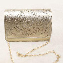 Chain Hollow Out Crossbody Bag