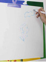 Ceative Teaching White Board Graffiti Painting Wall Decal with Pen