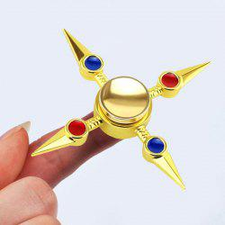 Antistress Cross Shape Hand Finger Gyro Spinner