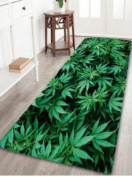 Greenery Indoor Coral Velvet Large Area Rug - GREEN