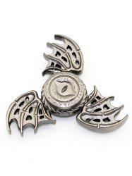 Dragon Wings Focus Toy Finger Gyro Spinner Birthday Gift - SILVER