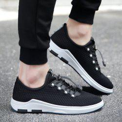 String Mesh Casual Shoes
