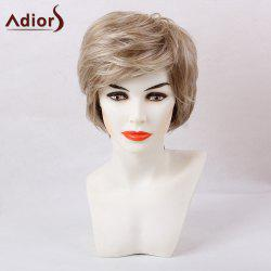 Adiors Short Layered Straight Colormix Inclined Bang Synthetic Hair