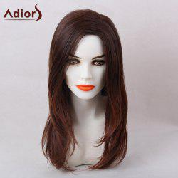 Adiors Straight Long Natural Side Part Synthetic Hair