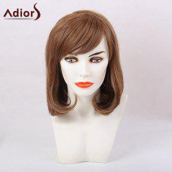 Adiors Short Tail Adduction Oblique Bang Bob Synthetic Hair