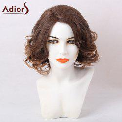 Adiors Side Part Short Shaggy Curly Colormix Synthetic Wig