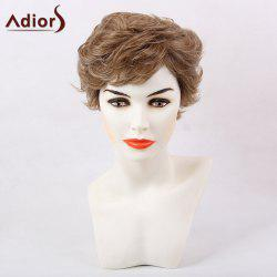 Adiors Slightly Curled Layered Short Side Bang Synthetic Hair