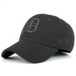 Gothic Letter Embroidered Baseball Hat