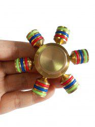 Stress Relief Toy Rainbow Finger Gyro - MULTI