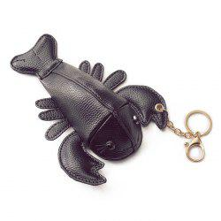 Lobster Shaped Funny Coin Purse - BLACK