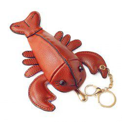Lobster Shaped Funny Coin Purse - BROWN