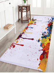 Splash-ink Coral Velvet Antislip Area Rug
