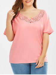 Cutout Plus Size Top