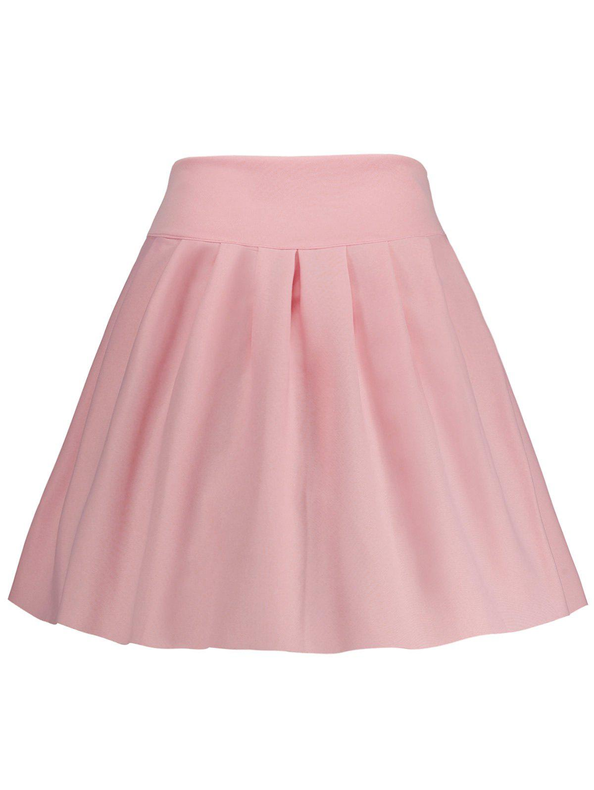 Sale A Line High Waisted Mini Skirt