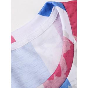 Tie Dye Fourth July Graphic T-Shirt -