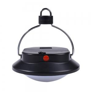 Outdoor 60 LED Hanging Up Camping Lamp - BLACK
