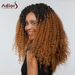Adidas Two Tone Deep Curly Side Part Lace Front Cheveux synthétiques -