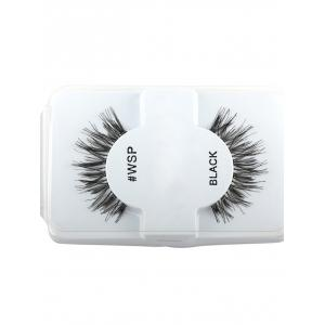 Thick Extension Crisscross False Lashes - Black