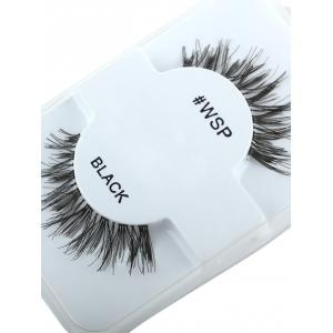 Extension épais Crisscross False Lashes - Noir