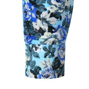 Plus Size All Over Floral Printed Shirt -