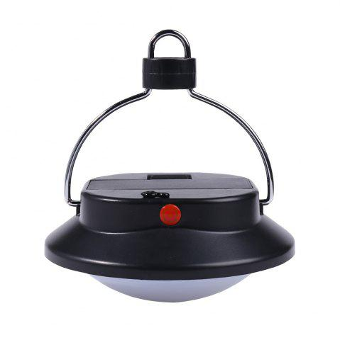 Sale Outdoor 60 LED Hanging Up Camping Lamp - BLACK  Mobile