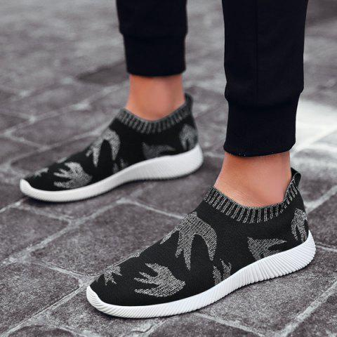 Store Slip On Mesh Casual Shoes - 40 SILVER Mobile