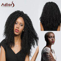 Adiors Free Part Lace Front Deep Curly Long Synthetic Hair