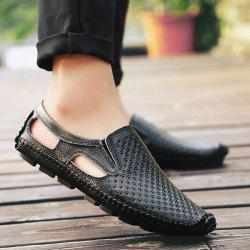 Stitching Hollow Out Casual Shoes