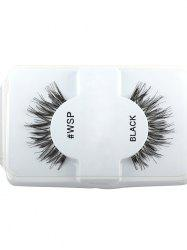 Thick Extension Crisscross False Lashes